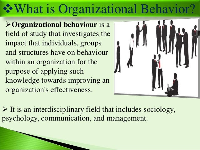 challenges and opportunities of organizational behaviour Organizational culture relates to the behaviours of a set of employees within the  same  provide challenge and opportunity for development.