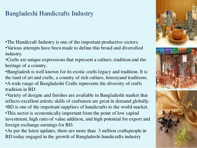 Challenges and opportunities of handicrafts industry of
