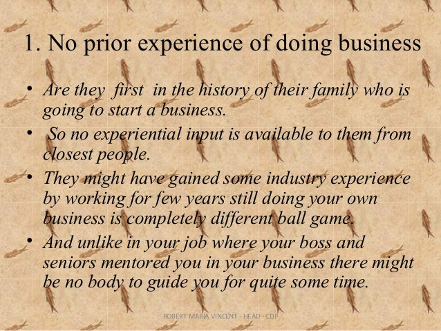 challenges faced by first generation entrepreneurs