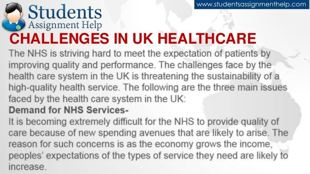 Uk Healthcare System Major Challenges
