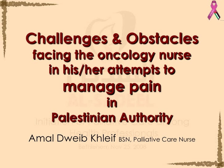 Challenges facing the nursing profession in
