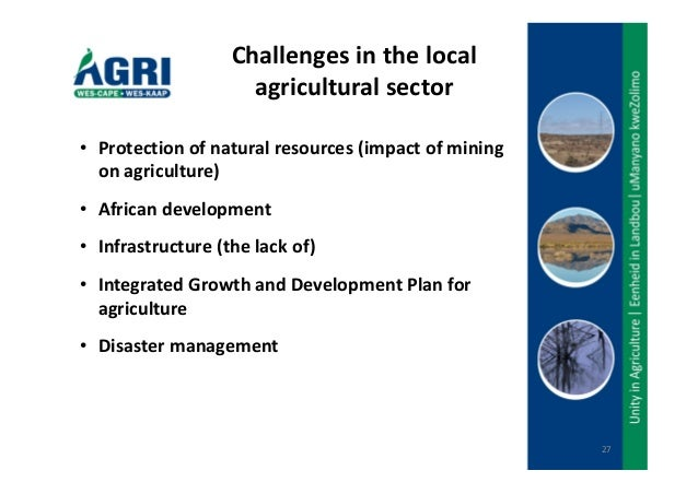 is the agricultural sector facing a Chapter 36w challenges facing the developing countries 3  reforms to be reversed or continuing to protect a large agricultural sector whose.