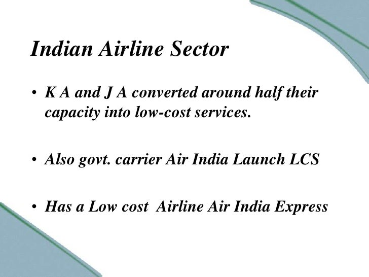 Growth of Indian Airline industry Essay