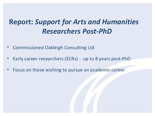 Challenges for Post-PhD Career Development - Dr Ian Lyne Slide 3