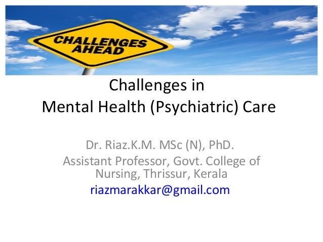 mental health nursing care essay