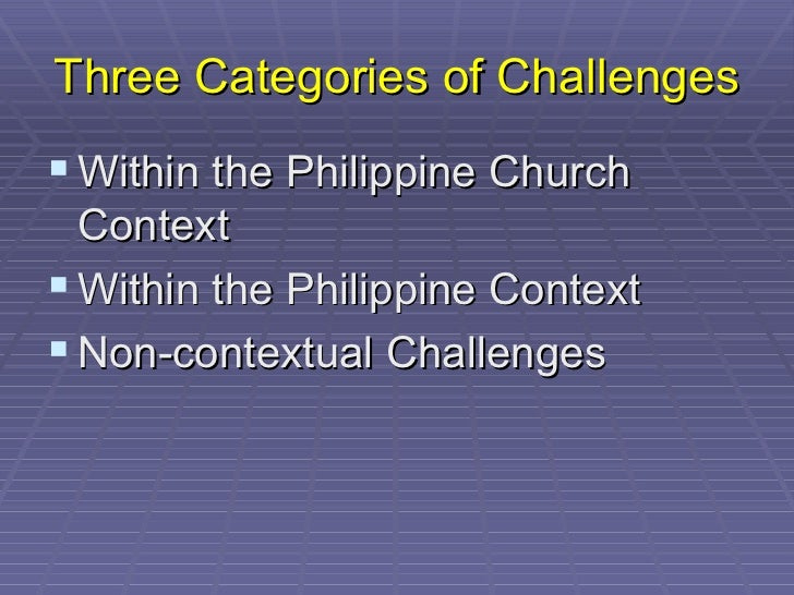 Christian Community Development 2: Challenges in the Philippines Slide 3