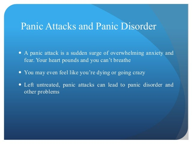 panic attack essay example
