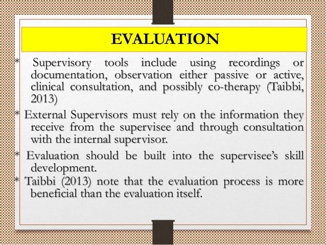 Challenges In Clinical Supervision