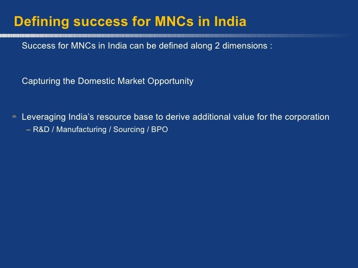 the challenges faced by the mncs Successful mncs require stability for development, and to resolve ethical difficulties is one of the key issues that could affect such stability, this is the focus of this assignment: first, it will explain the ethical difficulties multinational business encounter while operating in several countries followed by the general principles required to resolve such ethical.