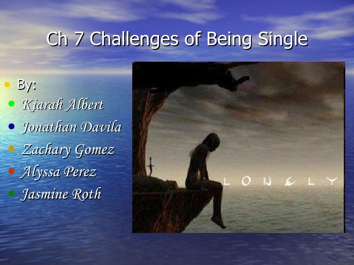 Coping with singleness