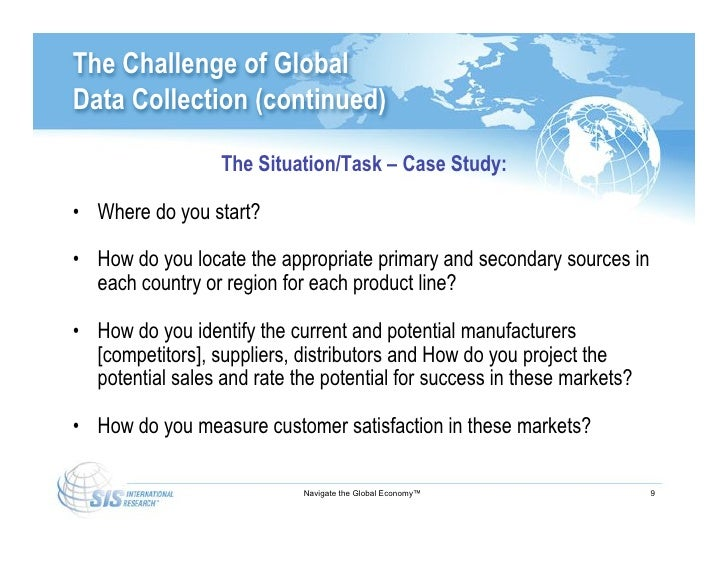 international data collection We employ all data collection modes and specialize in surveys of sensitive topics and behaviors.