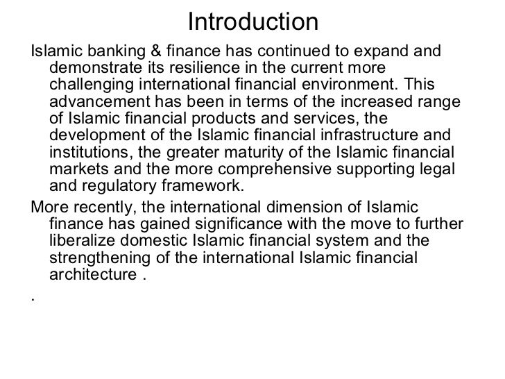 Chapter 6: Islamic Banking versus Conventional Banking