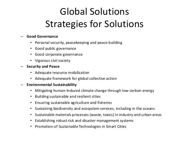 Global Solutions Smart Cities