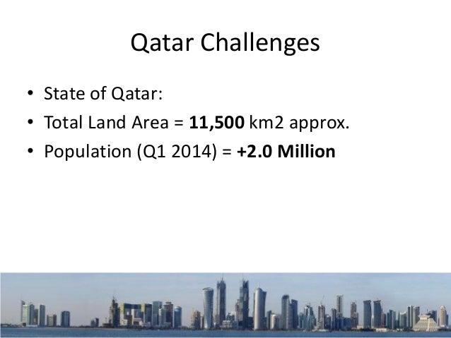 "Qatar Challenges Housing Stock in Qatar ""Source: Qatar Statistics Authority"""