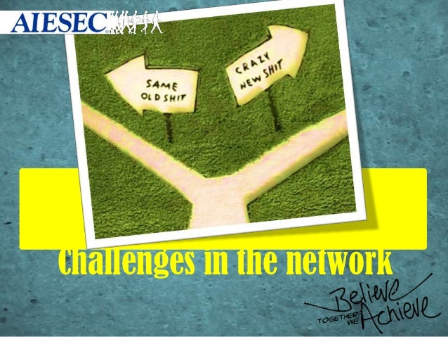 Challenges in the network
