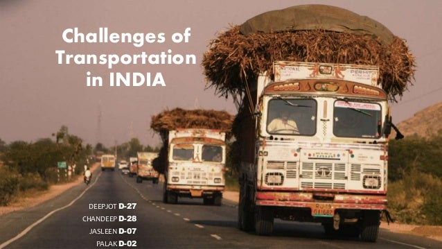 Challenges Of Transportation In India