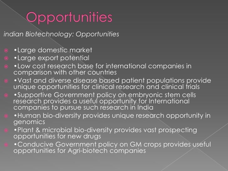 What is the future of biotechnology in India? - Quora