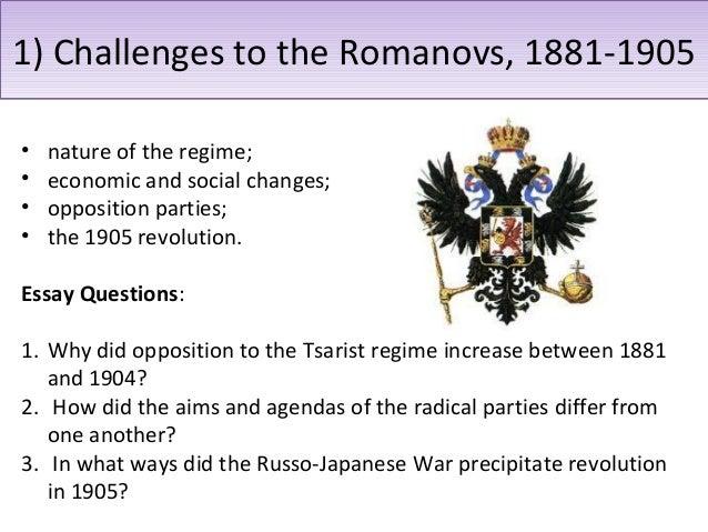 opposition to the tsar increase from 1881 1905 Stefan plaggenborg, la politique fiscale et la question de la pauvreté des paysans dans la russie tsariste, 1881-1905 l'un des points les plus controversés chez.