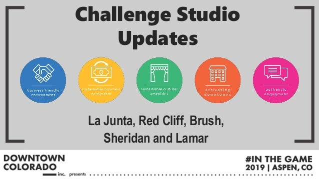 La Junta, Red Cliff, Brush, Sheridan and Lamar Challenge Studio Updates