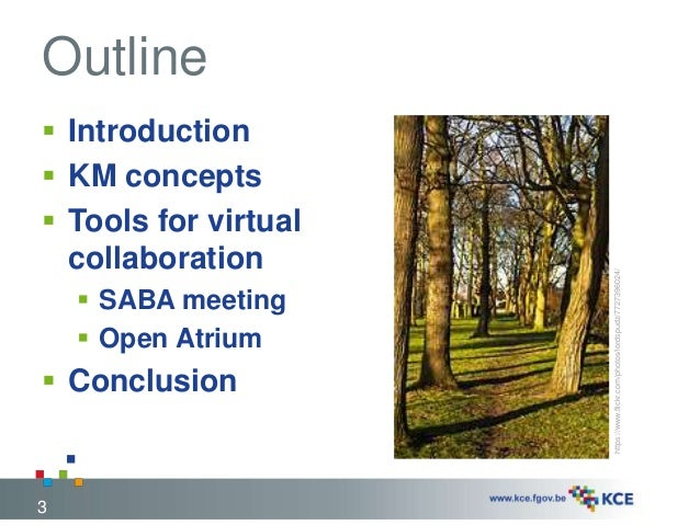 KM seeds to support a growing international collaboration: EUnetHTA and virtual collaboration Slide 3