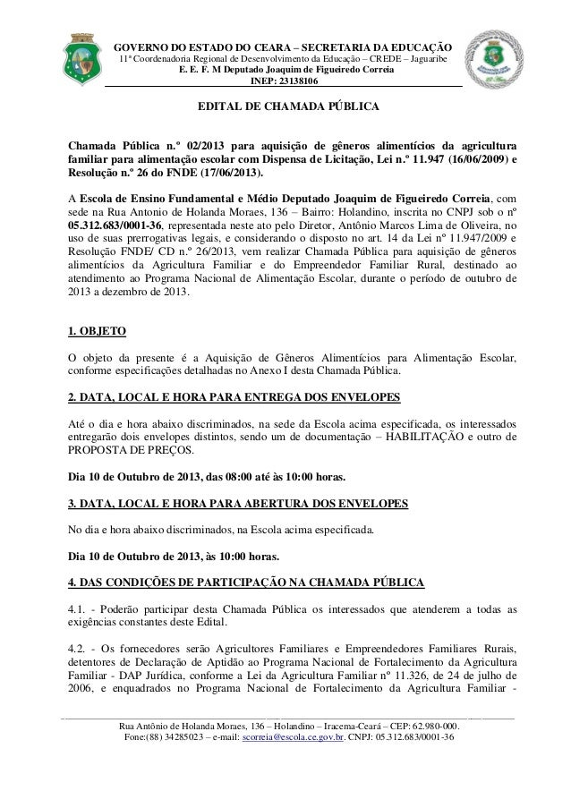 GOVERNO DO ESTADO DO CEARA – SECRETARIA DA EDUCAÇÃO 11ª Coordenadoria Regional de Desenvolvimento da Educação – CREDE – Ja...