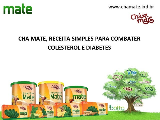 www.chamate.ind.brCHA MATE, RECEITA SIMPLES PARA COMBATER         COLESTEROL E DIABETES