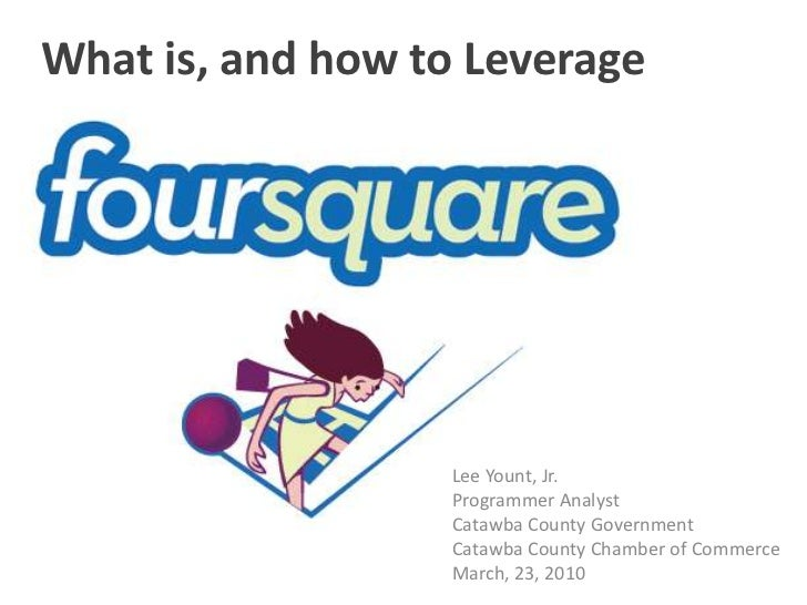 What is, and how to Leverage<br />Lee Yount, Jr.<br />Programmer Analyst<br />Catawba County Government<br />Catawba Count...