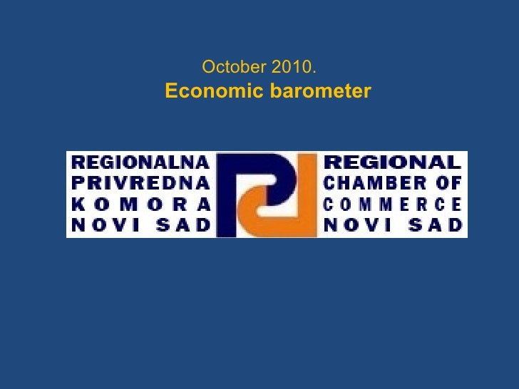 October 2010. Economic barometer