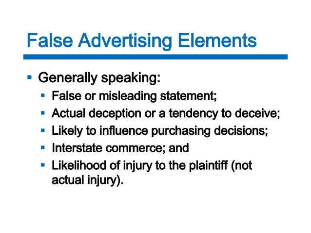advertising laws 5 common mistakesfalse advertising