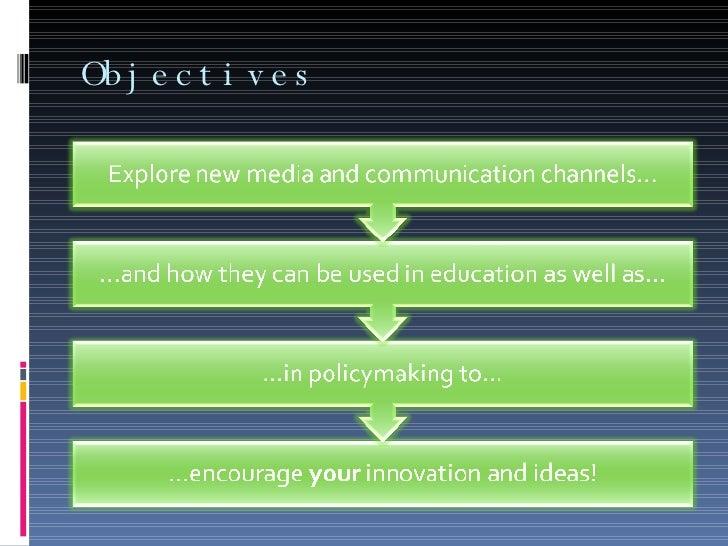 Chambers And New Media Slide 2