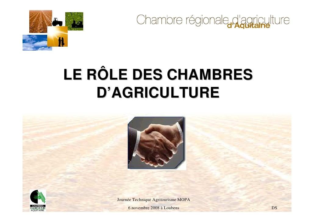 Chambre r gionale d agriculture d aquitaine et de la - Chambre d agriculture des deux sevres ...