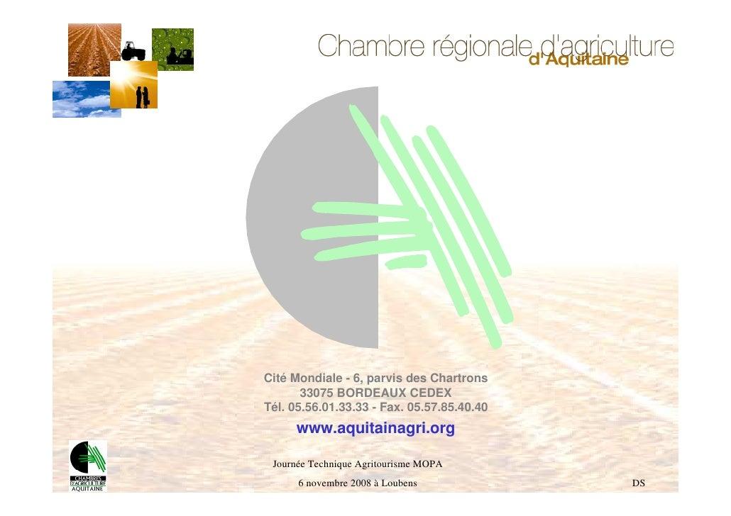 Chambre r gionale d agriculture d aquitaine et de la for Chambre d agriculture aquitaine