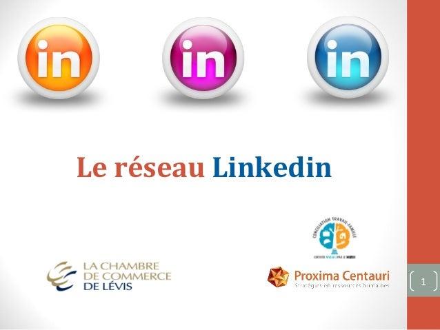 Le réseau Linkedin                     1