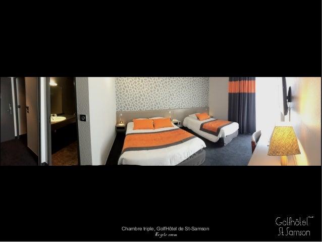 Chambre triple, GolfHôtel de St-Samson Triple room