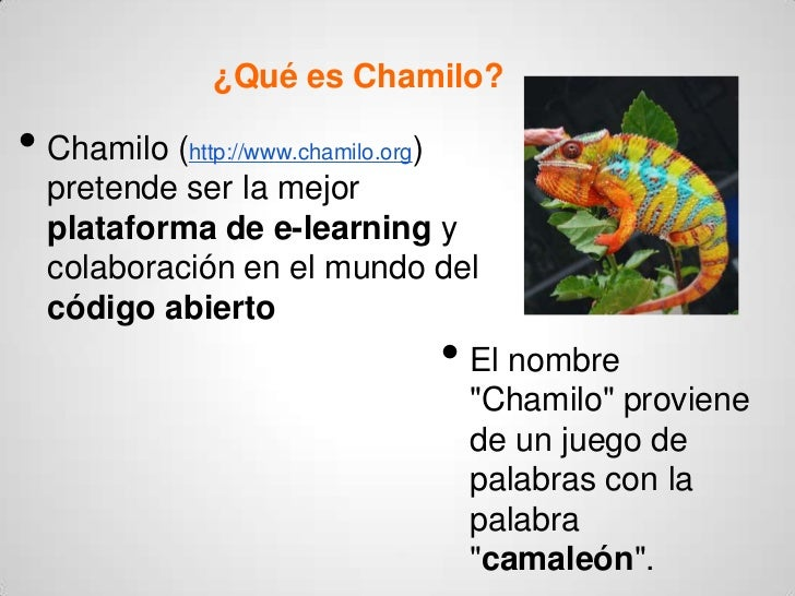 Qué es Chamilo - Ventajas y desventajas Slide 2