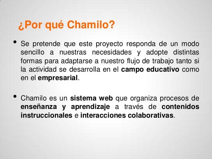 Qué es Chamilo - Ventajas y desventajas Slide 3