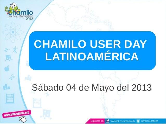 CHAMILO USER DAYLATINOAMÉRICASábado 04 de Mayo del 2013