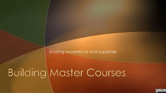 Sharing experience and expertise