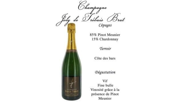 Présentation Soirée Champagne