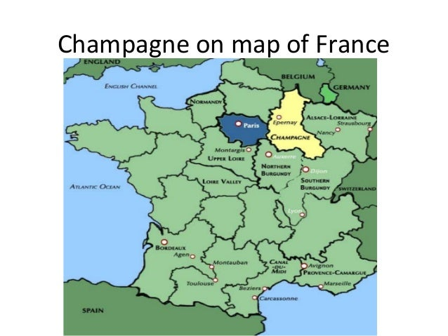Chagne: Champagne France Map At Infoasik.co