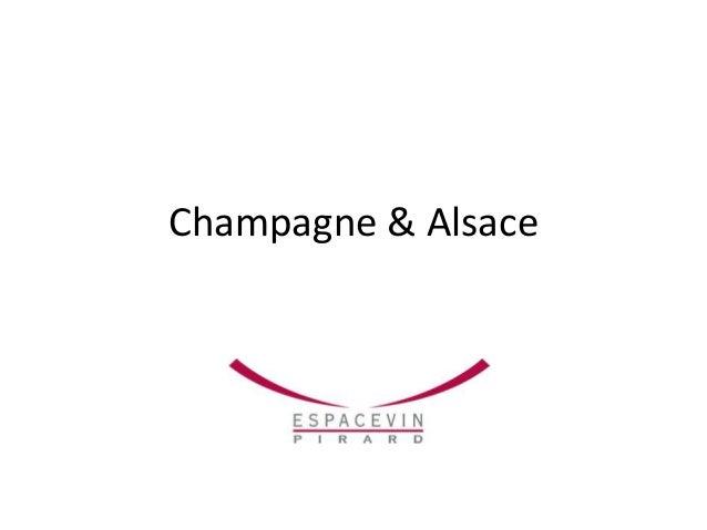 Champagne & Alsace
