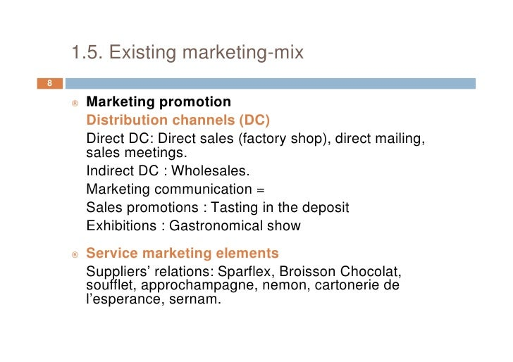 Free marketing plan sample of a small champagne manufacturer and expo – Promotion Proposal Sample