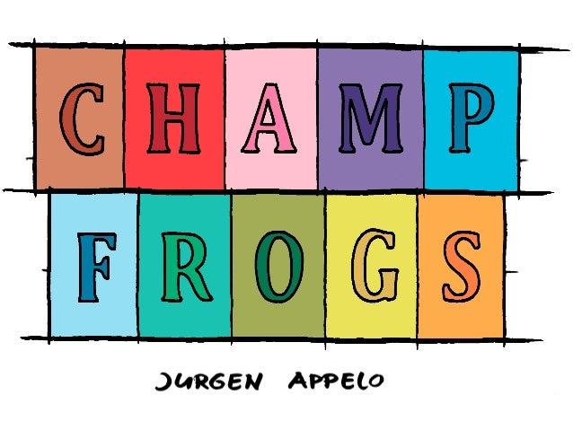 Jurgen Appelo writer, speaker, trainer, entrepreneur... www.jurgenappelo.com