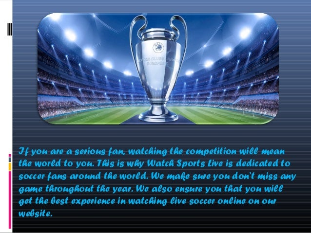 Livestream Champions League Free
