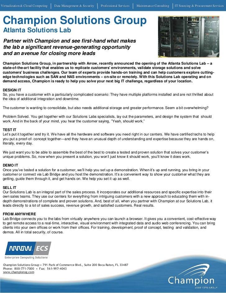 Virtualization & Cloud Computing   Data Management & Security      Professional Services   Maintenance Consulting   IT Sou...