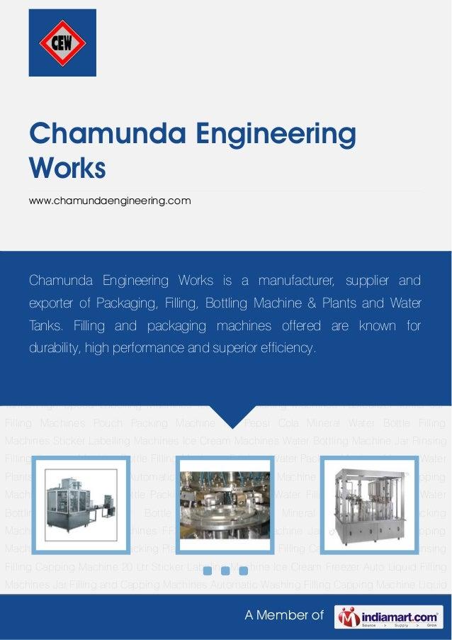 A Member ofChamunda EngineeringWorkswww.chamundaengineering.comMineral Water Bottle Packing Machine Mineral Water Filling ...