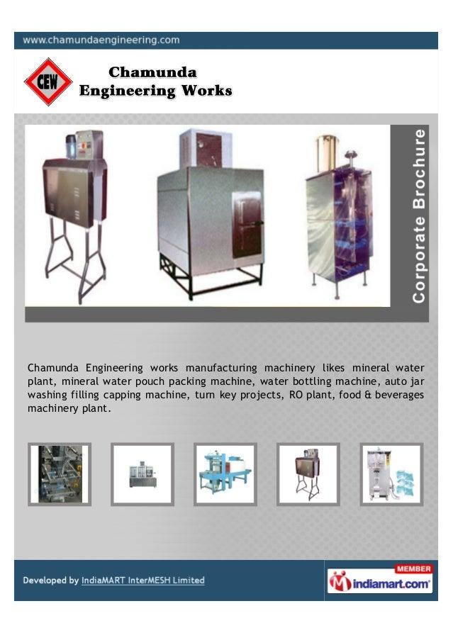 Chamunda Engineering Works, Ahmedabad, Water Plant