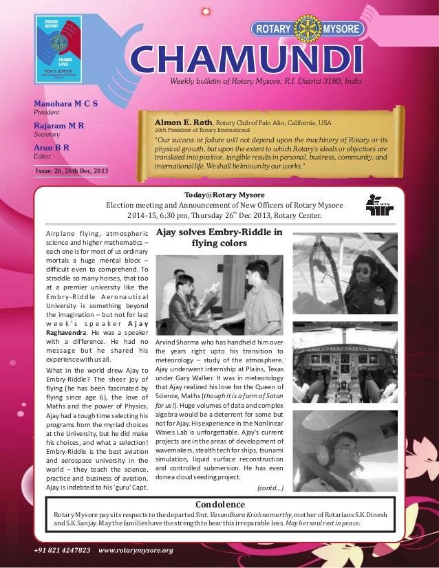 Almon E. Roth, Rotary Club of Palo Alto, California, USA 20th President of Rotary International  Issue: 26, 26th Dec, 2013...