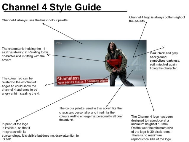 Channel 4 Style Guide                                                                                             Channel ...