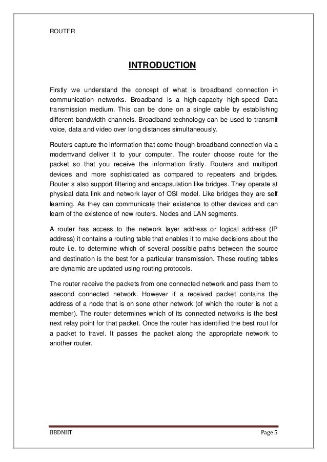 Concepts routing pdf protocols